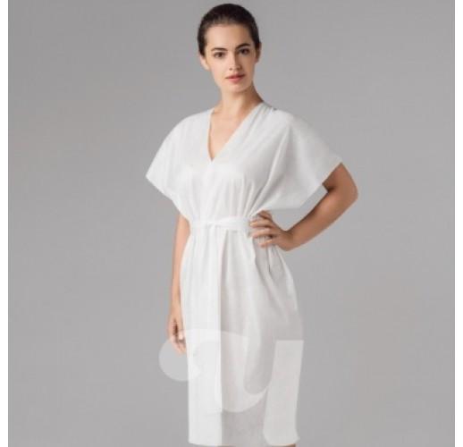 Халат-кимоно без рукавов  Спанлейс
