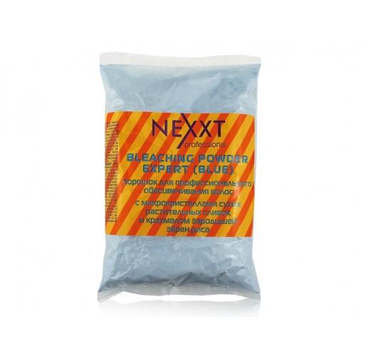 NEXXT Порошок для профессионального обесцвечивания волос Голубой в пакете 500гр
