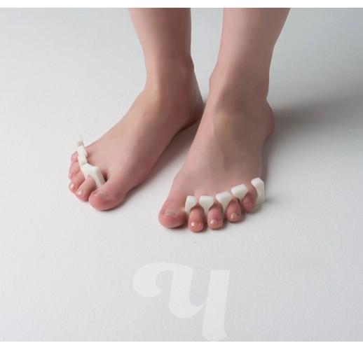 Разделители для пальцев 8 мм (20 пар) Белый