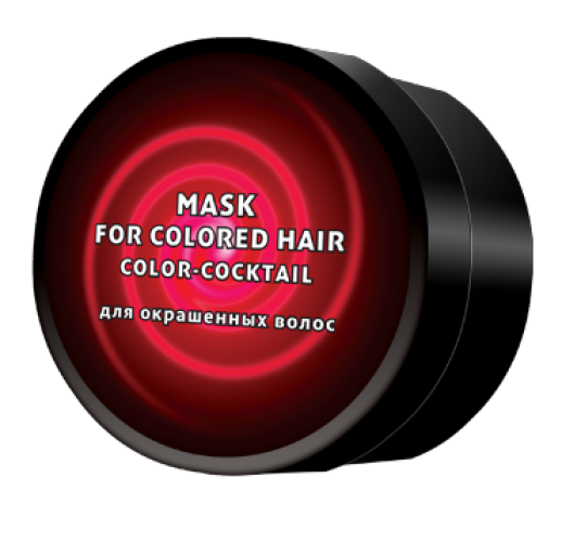 GALACTICOS - Маска колор-коктейль для окрашенных волос  200 мл