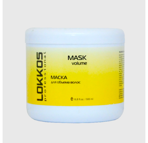 LOKKOS маска для объема волос 500 МЛ