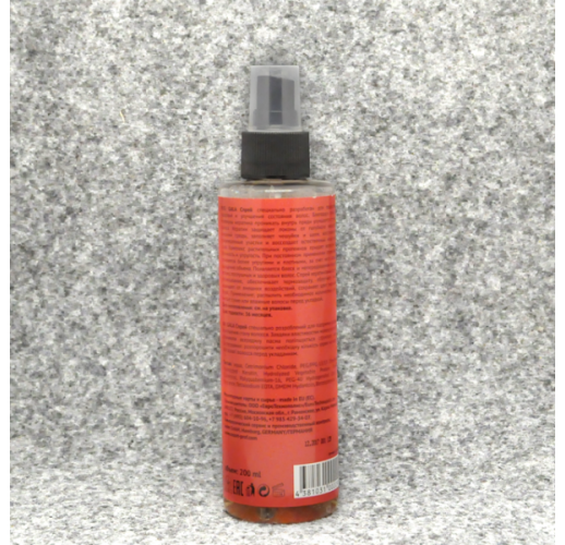 MOULIN ROUGE:   СПРЕЙ КЕРАТИНОВЫЙ  для уплотнения волос 200 мл