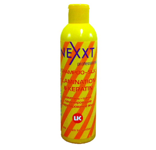 NEXXT шампунь-шелк ламинирование и кератирование волос 1000мл