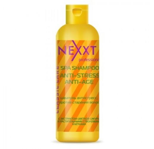NEXXT Шампунь антистресс, против старения волос 1000мл