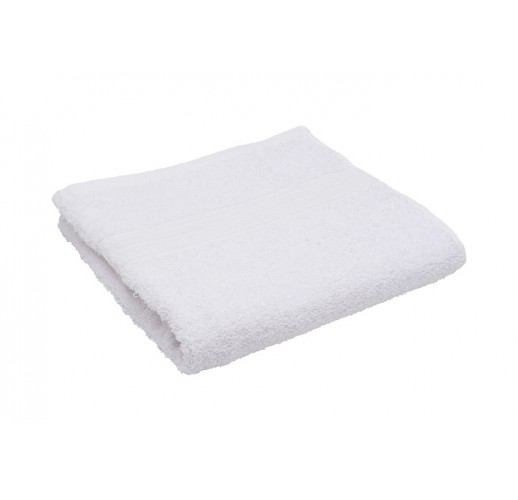 Полотенце махровое 50 х 90 Белое(1 шт)
