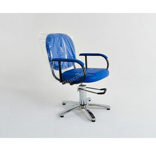 Чехол на кресло полиэтилен прозрачный 60 х 70 (100 шт)