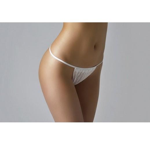 Трусики-бикини женские (25 шт) Белый Спанлейс