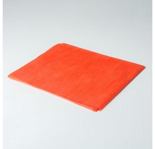 Простыня люкс спанбонд 200 х 90 Оранжевый (10 шт)