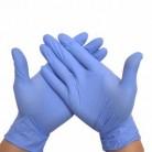 Перчатки Нитриловые BENOVY Голубой L (100 шт/уп)