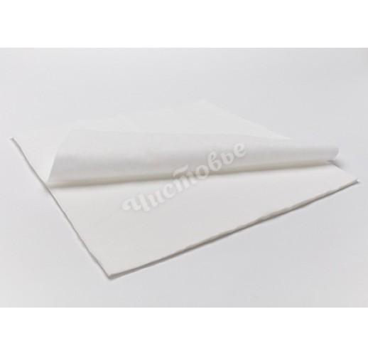 Коврик трехслойный Спанлейс 45 х 45 Белый  (1шт)