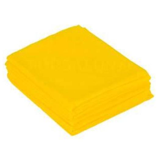 Простыня люкс спанбонд 200 х 70 Желтый (10 шт)